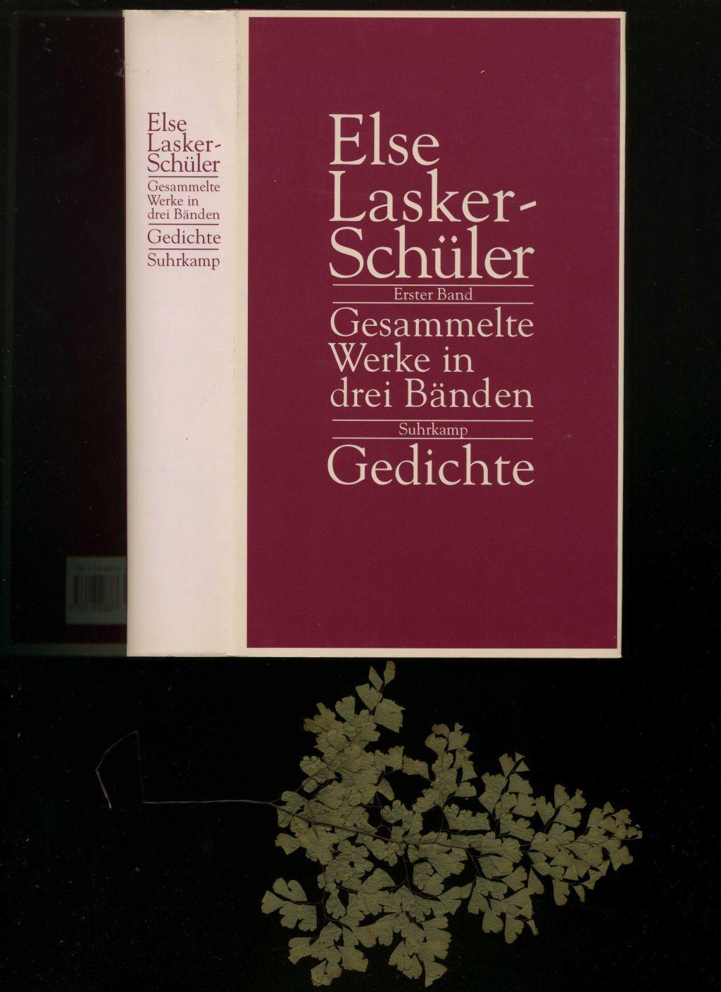 Gesammelte Werke in drei Bänden. Erster Band. Gedichte 1902-1943