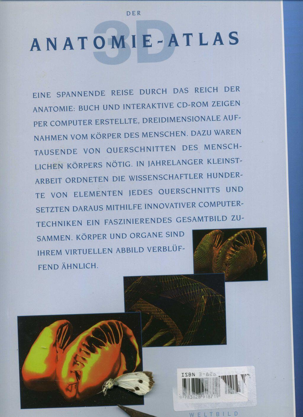 der 3d anatomie atlas mit von mccracken - ZVAB