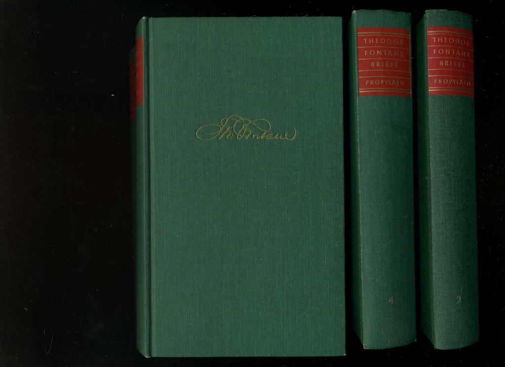 Briefe In 4 Bänden Berlin Propyläen Verlag
