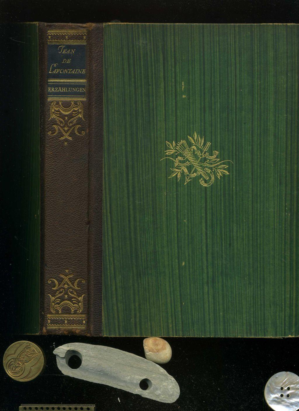 Erzählungen. Mit 35 Tafeln in Kupfertiefdruck nach den Stichen von Charles Eisen. Lafontaine, Jean de. Hardcover