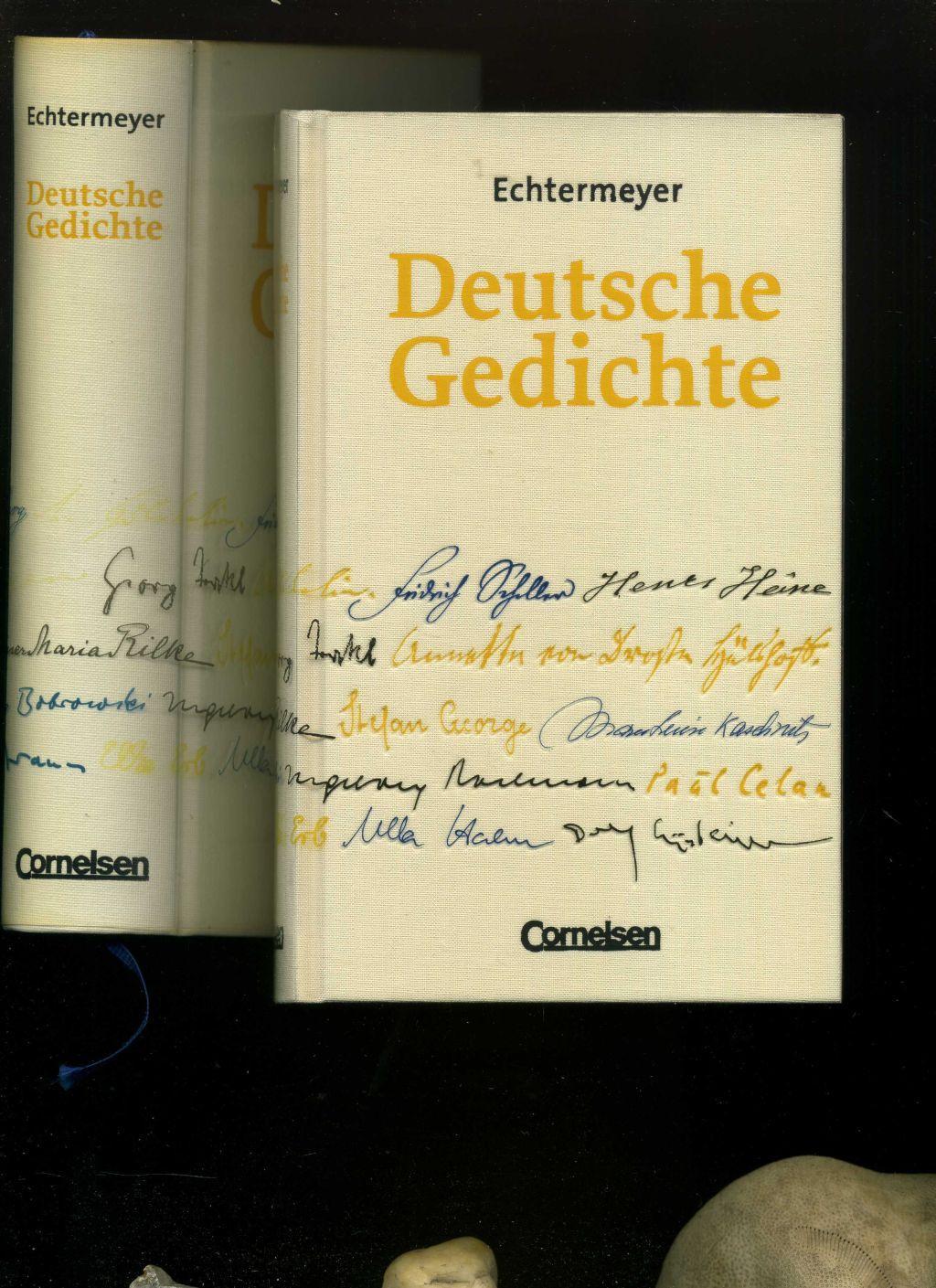 Echtermeyer Deutsche Gedichte Von Den