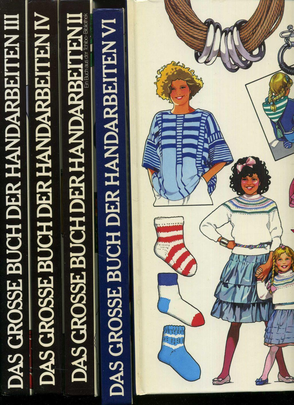 Das Große Buch Der Handarbeiten Konvolut Von 5 Bänden Band Ii