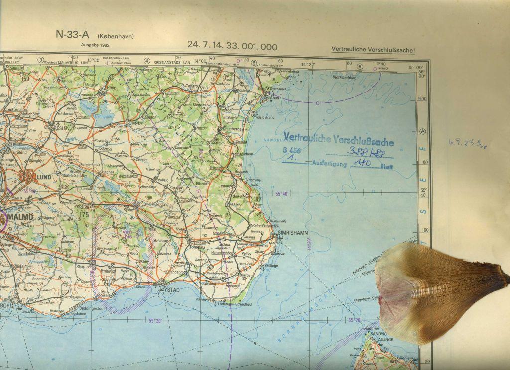 Verlauf Ddr Grenze Karte.Topographische Karte Ddr Kunst Zvab