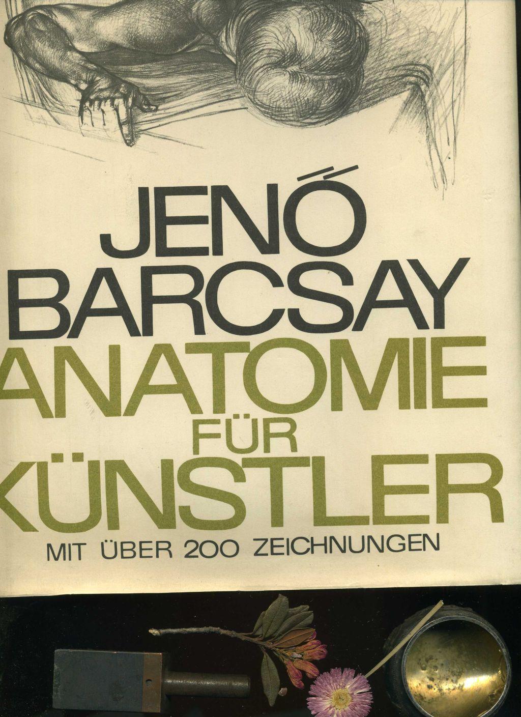 anatomie fuer kuenstler von jeno barcsay - ZVAB