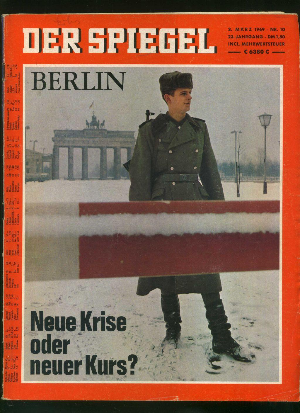 Neue berliner illustrierte heft zvab for Der spiegel aktuelles heft