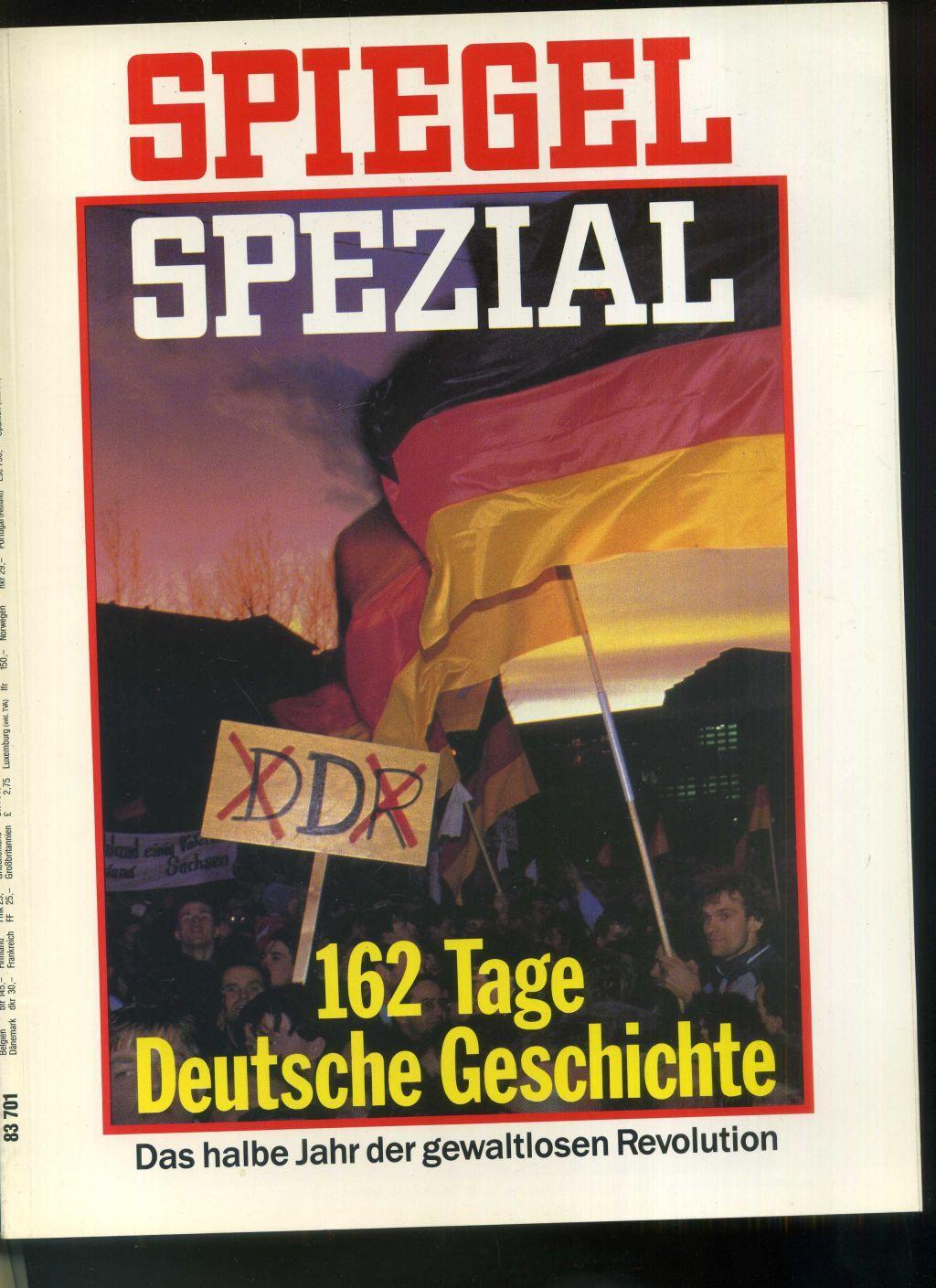 Spiegel spezial heft 2 1990 titelgeschichte 162 tage for Spiegel heft