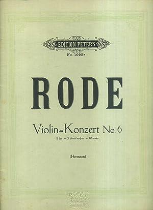 Berühmte Violin Konzerte von Kreutzer, Rode und: Rode / Violin-Konzert