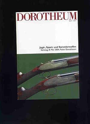 Jagd-, Sport- und Sammlerwaffen. Dorotheum 8 Mai: Auktionskataloge / Spezialkataloge