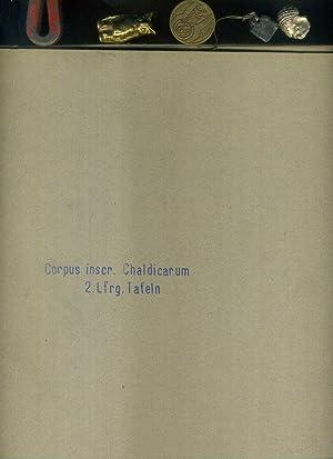 Corpus inscriptionum Chaldicarum: Ferdinand Friedrich Carl [ed]: Corpus inscriptionum Chaldicarum: