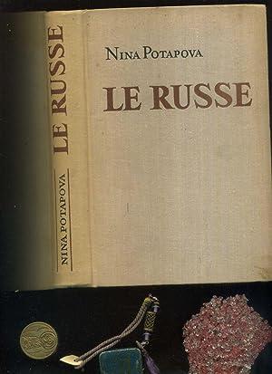 Potapova, Nina. Le Russe. Russisch französiches Lehrbuch.: Potapova, Nina: /