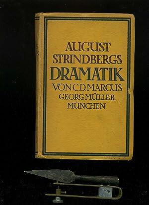 August Strindbergs Dramatik mit Abbildungen nach Svend: Strindberg, August /