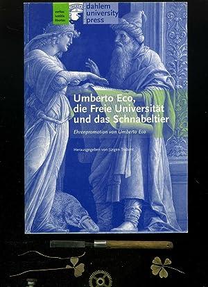 Umberto Eco, die Freie Universität und das: Umberto Eco /