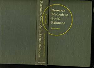 Research methods in social relations. Text in: Selltiz / Jahoda