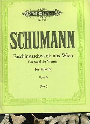 Schumann, Robert. Faschingsschwank aus Wien op. 26.: Schumann, Robert: