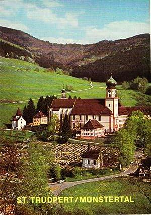 73001045 St Trudpert Kloster St Baden-württemberg Ansichtskarten Trudpert