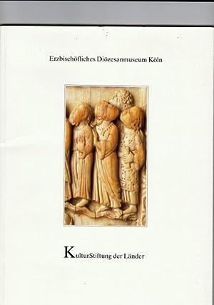 Ein frühromanisches Elfenbeinrelief in Köln.: Plotzek, Joachim M.: