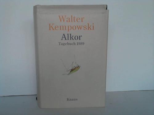 Alkor. Tagebuch 1989: Kempowski, Walter