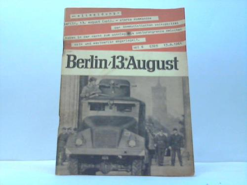 Sperrmaßnahmen gegen Recht und Menschlichkeit: Berlin - 13.