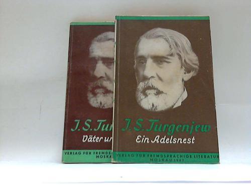 2 Bände: Ein Adelsnest, Väter und Söhne: Turgenjew, Iwan