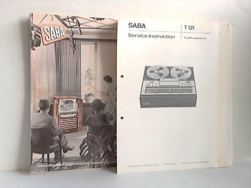 Saba Service Manual für  Tonbandgerät 440 F  Copy
