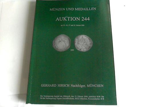 Münzen Und Medaillen Von Hirsch Zvab