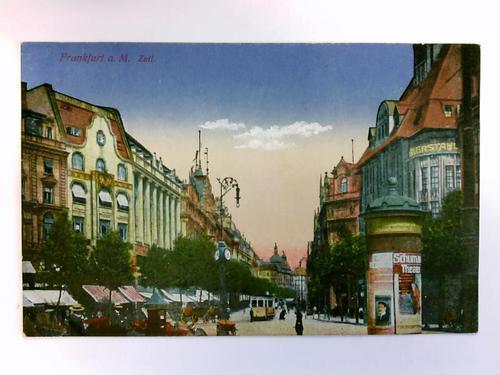 Postkarte: Frankfurt a. M. - Zeil: Frankfurt am Main