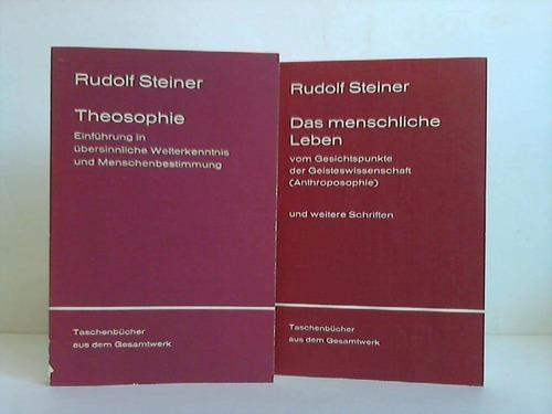 2 Bände: Steiner, Rudolf