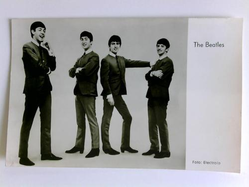 1 Postkarte: Paul McCartney, John Lennon, George: The Beatles