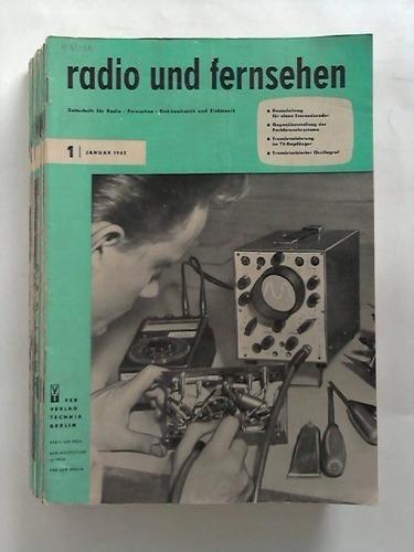 zeitschrift f�r radio, fernsehen,  radio und fernsehen #13