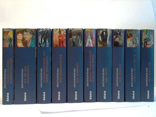 10 verschiedene Bände: Dostojewski, Fjodor M.
