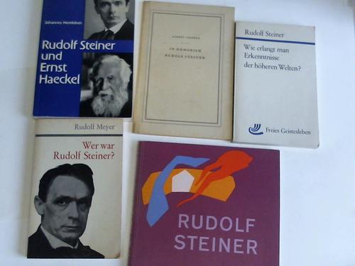 5 Bände: Steiner, Rudolf