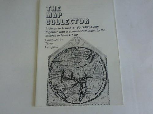 The map collector. Indexes to Issues 41: und Tony