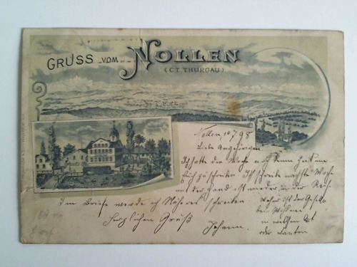 Postkarte: Gruss vom Nollen (Ct. Thurgau): Kanton Thurgau)
