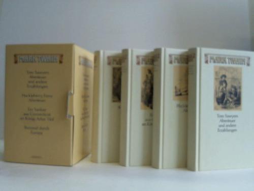 4 Bände: Twain, Mark
