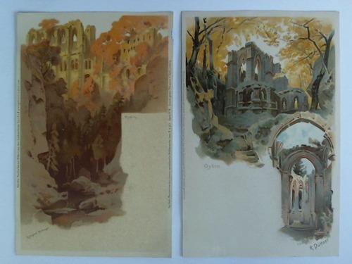 Österreich Schöne Farb Ansichtkarte Aus Oybin Gelaufen 1919 Ruf Zuerst Lots & Sammlungen