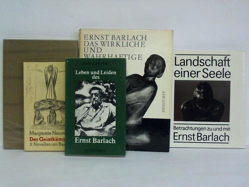 5 verschiedene Bände: Barlach, Ernst
