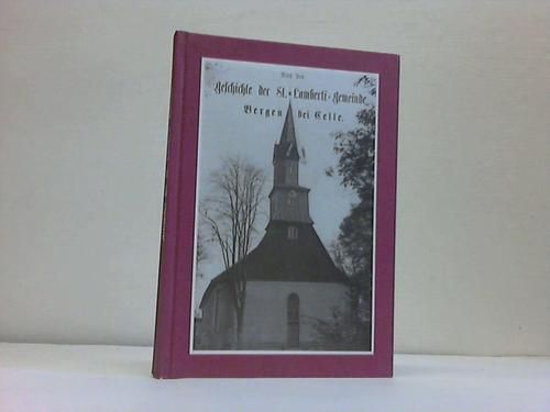 Aus der Geschichte der St. Lamberti-Gemeinde zu: Bergen- Spitta, Ludwig