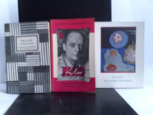 3 Bände: Klee, Paul