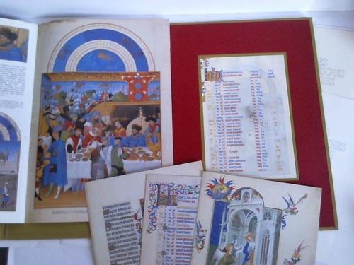 """Les Tres riches heures: 1 Kalenderblatt """"Monat: Duc du Berry"""