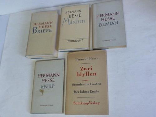 5 Bände: Hesse, Hermann