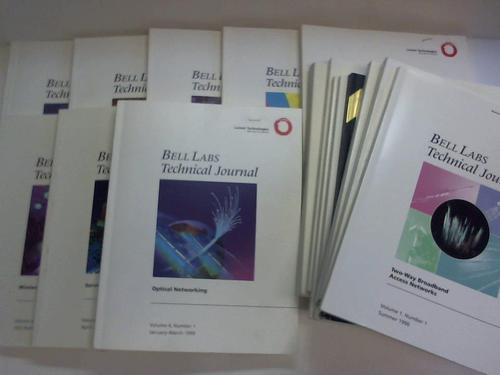 Bell Labs Technical Journal. Volume 1 to 6. 16 Numbers Lucent Technologies, Murray Hill [ ] [Softcover] (bi_30172132100) photo