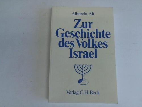 Zur Geschichte des Volkes Israel