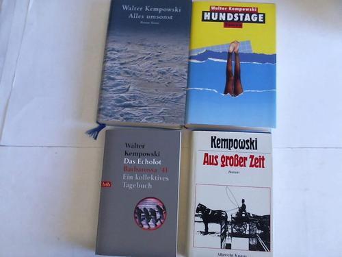 4 Bände: Kempowski, Walter