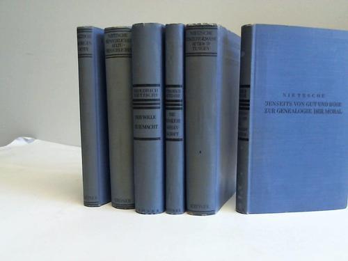 6 Bände: Nietzsche, Friedrich