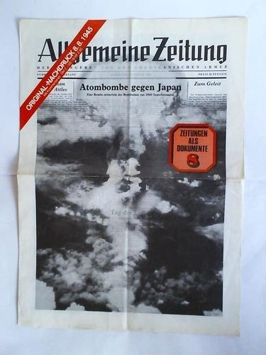 Herausgegeben von der Amerikanischen Armee - Nummer: Allgemeine Zeitung