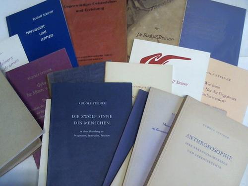 17 Bände: Steiner, Rudolf