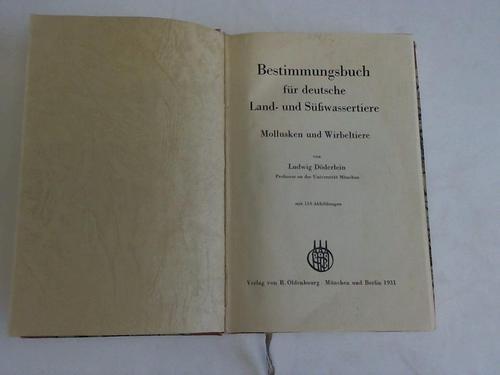 Bestimmungsbuch für deutsche Land- und Süßwassertiere.Mollusken und: Döderlein, Ludwig