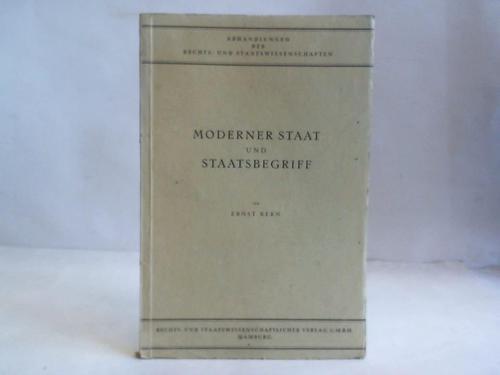 Moderner Staat und Staatsbegriff: Kern, Ernst