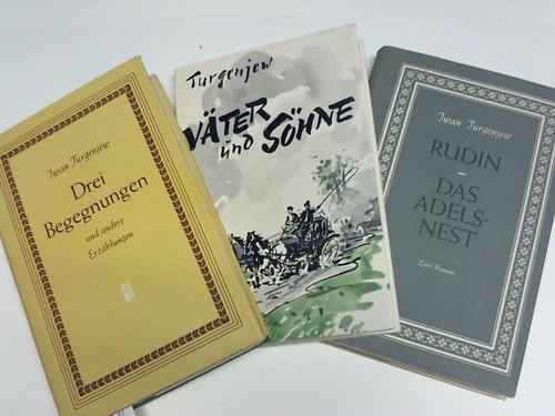 3 Bände: Turgenjew, Iwan