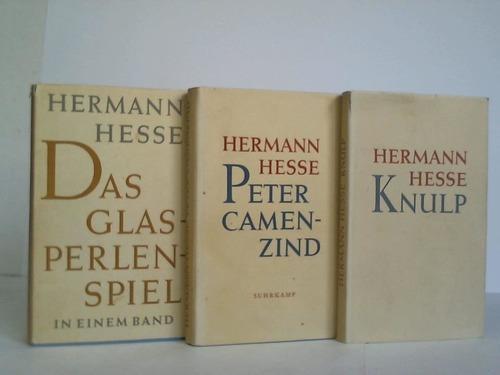 3 Bände: Hesse, Hermann